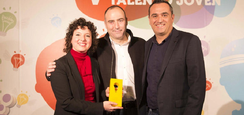 The technical directors of the Erasmus+ Scene Network win the 2018 Young Talent Award from the Valencian Community