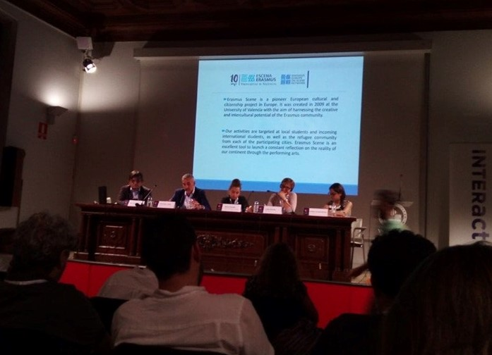 """EUSCN has been presented at the """"Culture and Creativity in Interreg"""" conference in Valencia"""